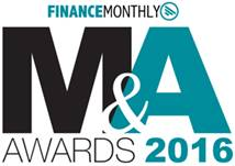 Finance Monthly 2016 Awards logo