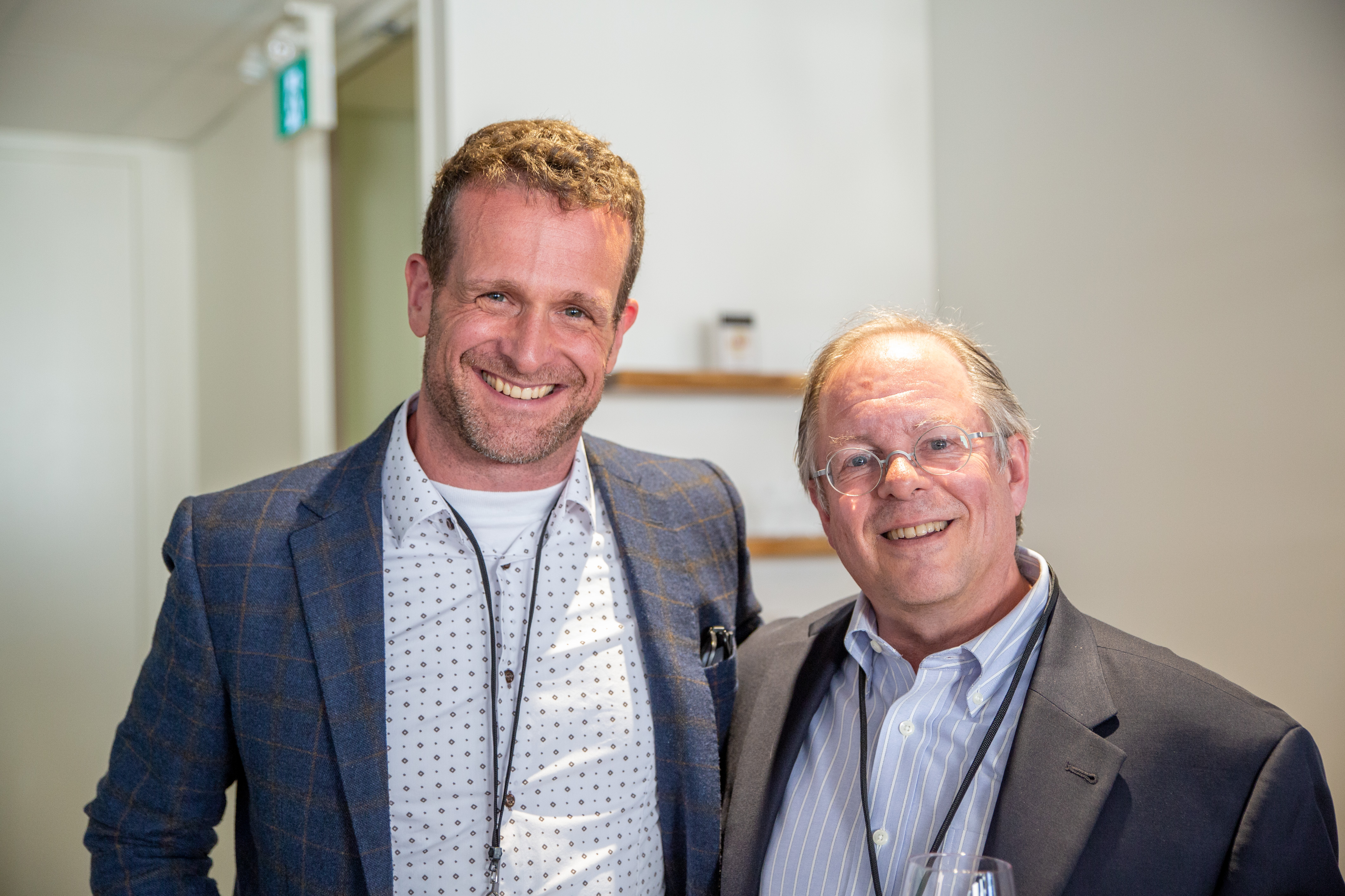 Photo of patent practitioners, Andrew Currier and Stephen Perry.